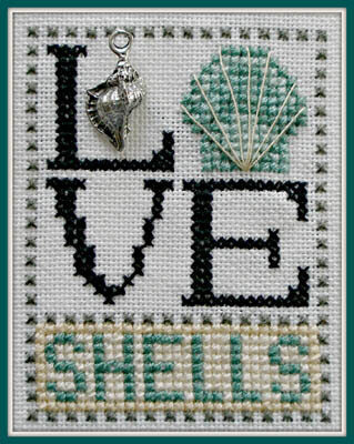 Love Shells - Cross Stitch Pattern