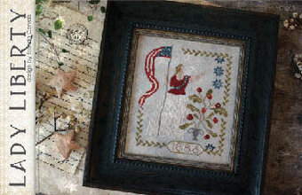 Lady Liberty - Cross Stitch Pattern