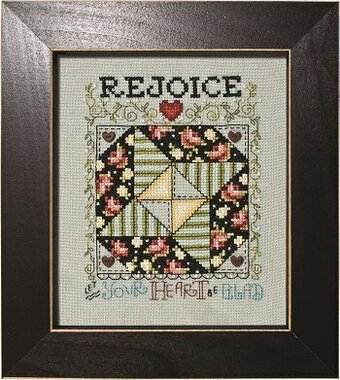 Rejoice - Next Door Neighbor Quilt Block