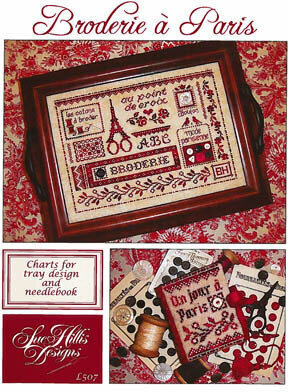 Broderie a Paris - Cross Stitch Pattern