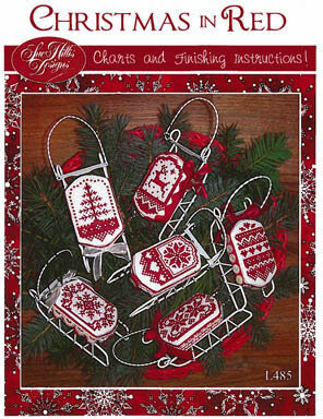 Christmas in Red - Cross Stitch Pattern