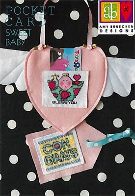 Sweet Baby Pocket Card - Cross Stitch Pattern