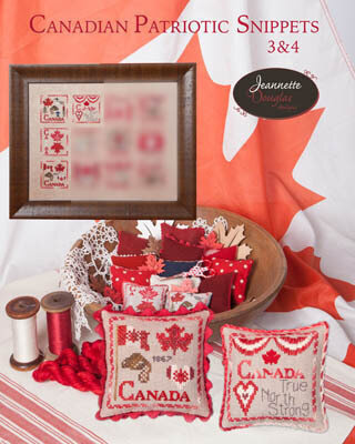 Canadian Patriotic Snippes Part 3 & 4 - Cross Stitch Pattern