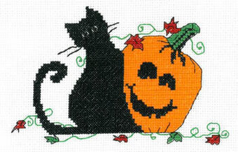 Pumpkin Pals - Cross Stitch Pattern