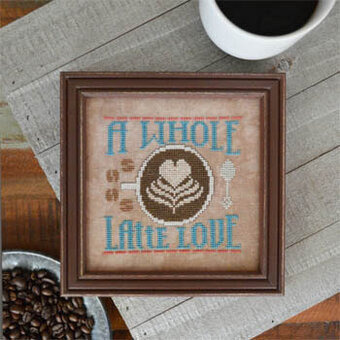 Whole Latte Love - Cross Stitch Pattern