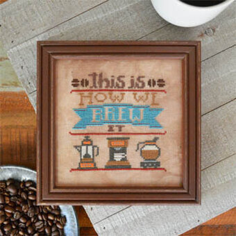 Brew It - Cross Stitch Pattern