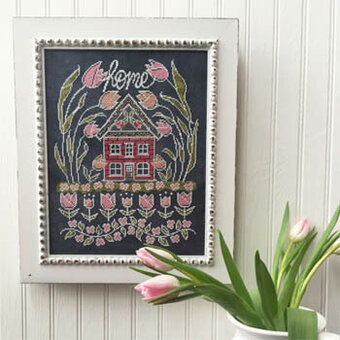 Tulip House - Cross Stitch Pattern