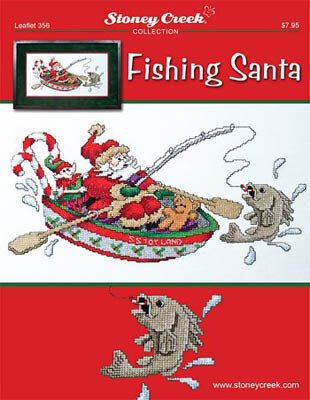 Fishing Santa - Cross Stitch Pattern