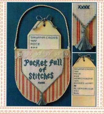 Pocket Full of Stitches - Cross Stitch Pattern