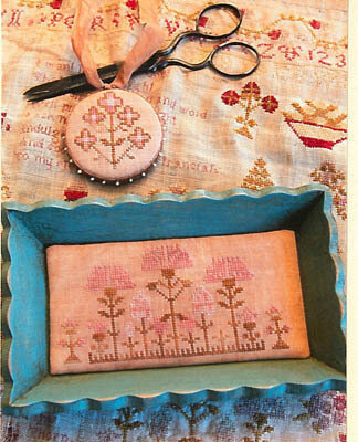 Snippets of Mary Barres Sampler SMALL Sewing Tray