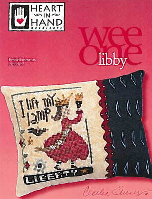 Libby (w/embellishments) - Cross Stitch Pattern