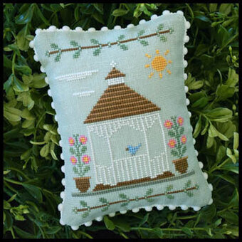Main Street Gazebo - Cross Stitch Pattern