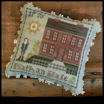 Nathan Hale - Early American - Cross Stitch Pattern