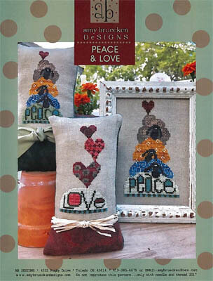 Peace & Love - Cross Stitch Pattern