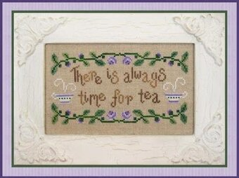 Time For Tea - Cross Stitch Pattern