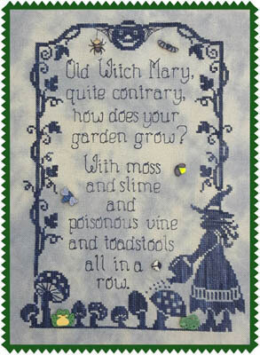 Old Witch Mary - Cross Stitch Pattern