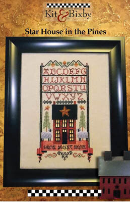 Star House in the Pines - Cross Stitch Pattern