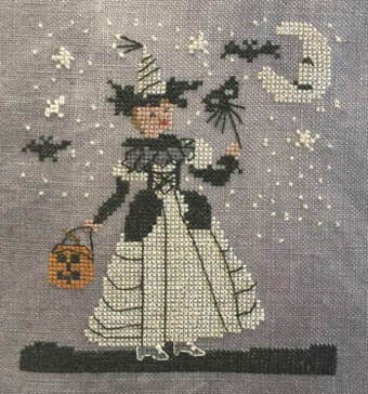 White Witch - Cross Stitch Pattern