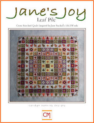 Leaf Pile - Jane's Joy - Cross Stitch Pattern