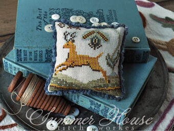 Fragments in Time 2017 - #8 - Cross Stitch Pattern