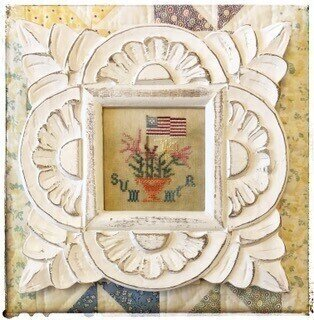 Summer Flag - Cross Stitch Pattern