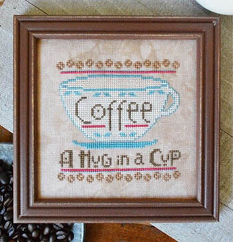 Hugs in a Cup - Cross Stitch Pattern