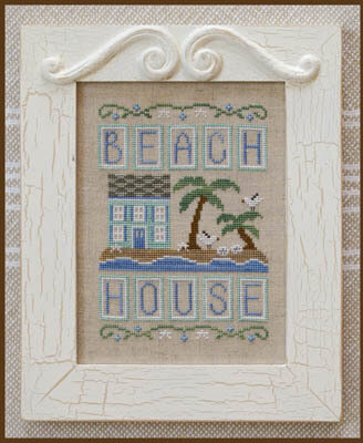 Beach House - Cross Stitch Pattern