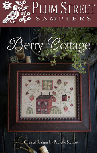 Berry Cottage - Cross Stitch Pattern