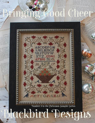 Bringing Good Cheer - Cross Stitch Pattern