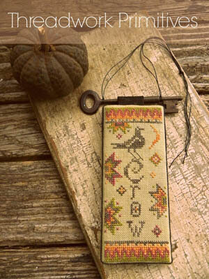 Primitive Crow - Cross Stitch Pattern