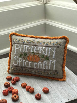 Pumpkin Spice Farm - Cross Stitch Pattern