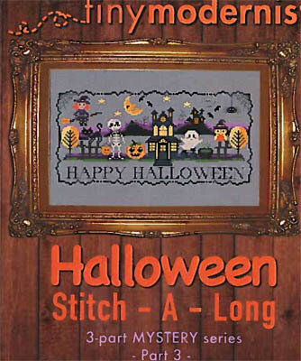 Halloween Stitch-a-Long Part 3 - Cross Stitch Pattern