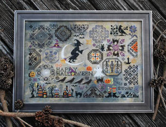 Halloween Quaker - Cross Stitch Pattern