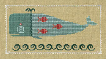 Winsome Whale - Cross Stitch Pattern