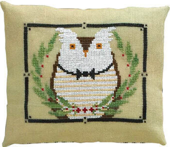 Mr Owl's Wintergreen Gala - Cross Stitch Pattern