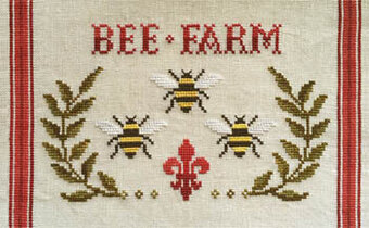 Bee Farm - Cross Stitch Pattern