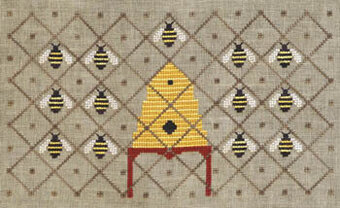 Honey Bee Reverie - Cross Stitch Pattern