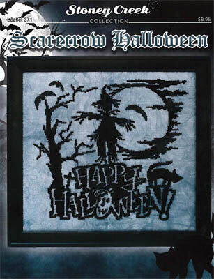 Scarecrow Halloween - Cross Stitch Pattern