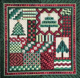 Holiday Delights - Christmas - Needlepoint Pattern
