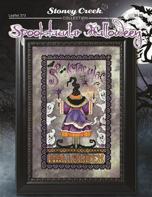 Spooktacular Halloween - Cross Stitch Pattern