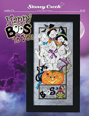 Happy Boos To You - Cross Stitch Pattern