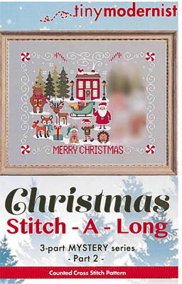 Christmas Stitch-a-Long Part 2 - Cross Stitch Pattern