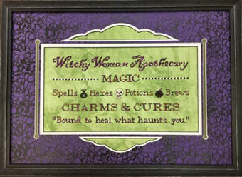 Witchy Woman Apothecary - Cross Stitch Pattern
