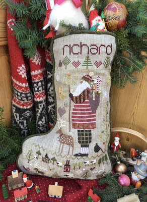 Richard's Stocking - Cross Stitch Pattern