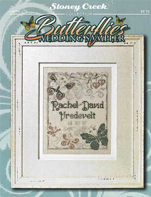Butterflies Wedding Sampler - Cross Stitch Pattern