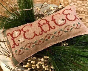 Christmas Peace - Cross Stitch Pattern