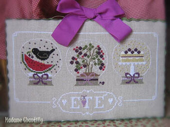 Ete (Summer) - Cross Stitch Pattern