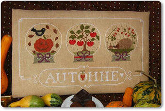 Autumne (Fall) - Cross Stitch Pattern