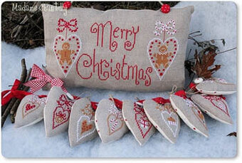 Merry Christmas - Cross Stitch Pattern