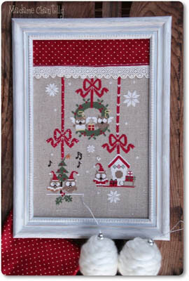 Christmas Owls - Cross Stitch Pattern